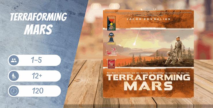 Terraforming Mars Spiel-Empfehlung