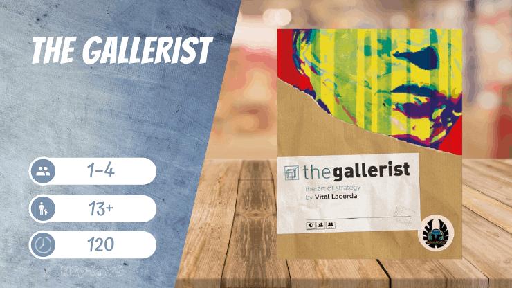 The Gallerist Brettspiel