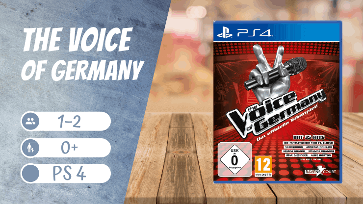 The Voice Of Germany - Ps4 Spiele Mädchen