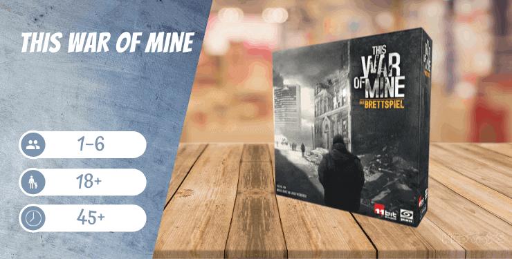 This War Of Mine - Das Brettspiel