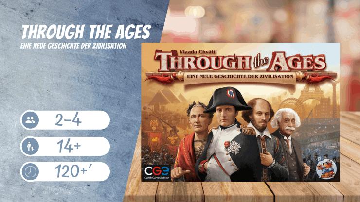 Through the Ages - Eine neue Geschichte der Zivilisation Brettspiel