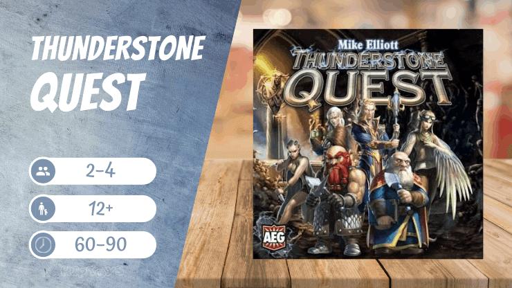 Thunderstone Quest kooperative Deckbuilding Spiel