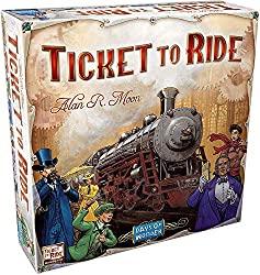 beste Brettspiel - Ticket to Ride - Hiptoys