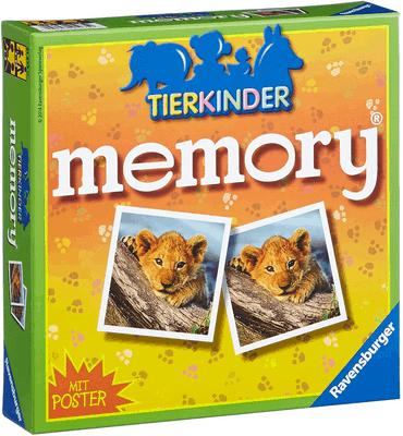 Tierkinder Memory Spiel für Kinder