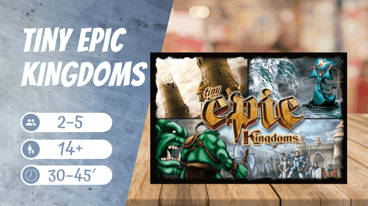 Tiny Epic Kingdoms Brettspiel - EN