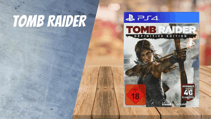 Tomb Raider(Reboot) - PS4 Spiele wie Uncharted