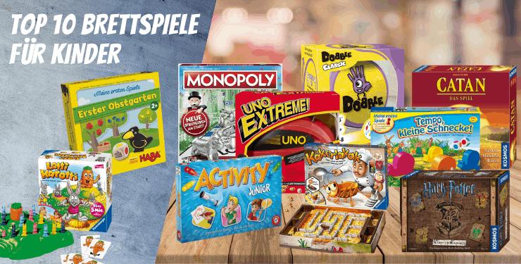 Top 10 Brettspiele für Kinder - Die BESTEN Gesellschaftsspiele (2020)