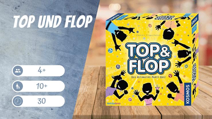 Top und Flop Brettspiel