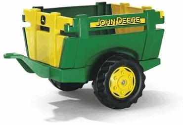 Trettraktor John Deere 7930 Anhänger
