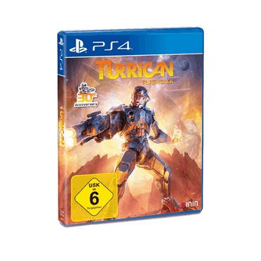 Turrican Flashback - PS4 Spiele für Kinder ab 6