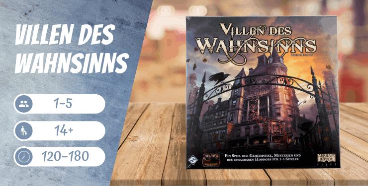Villen des Wahnsinns 2. Edition - Spiel-Empfehlung