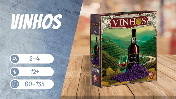 Vinhos Brettspiel