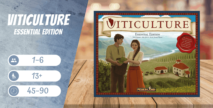 Viticulture Essential Edition Brettspiel