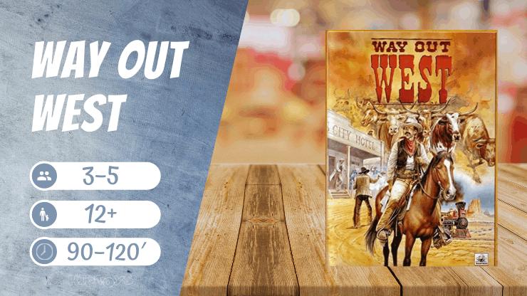 Way Out West Brettspiel