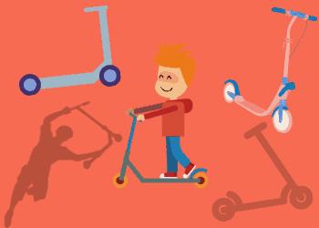 Welcher Roller-Typ für Kinder