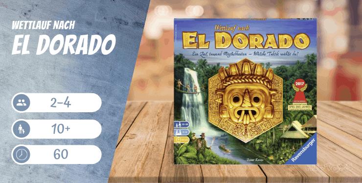 Wettlauf nach El Dorado Spiel