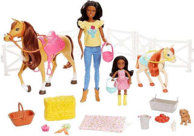 Womit spielen 6 jährige Mädchen - Barbie Reitspaß