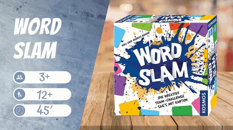Word Slam Brettspiel für große Gruppen