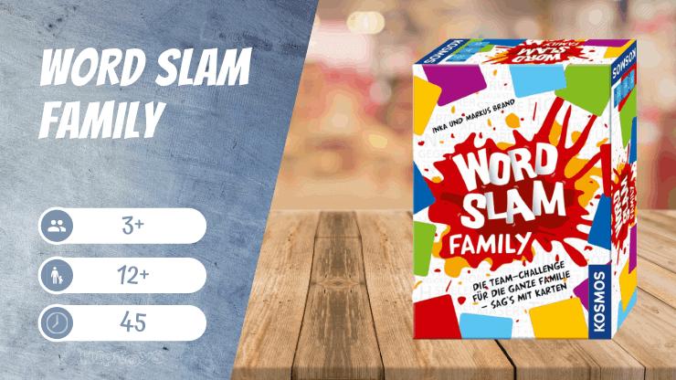 Word Slam Family Brettspiel