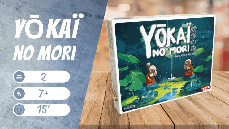 Yōkaï no Mori Brettspiel