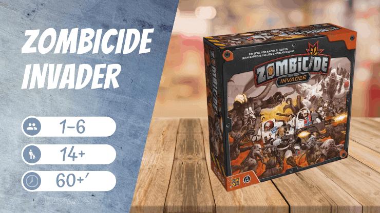 Zombicide Invader Brettspiel