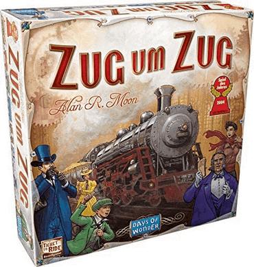 Zug um Zug (Ticket To Ride)