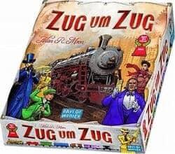 Strategie Brettspiele für Erwachsene - Zug um Zug - Hiptoys