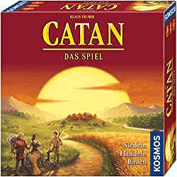 besten Gesellschaftsspiele für 10 jährige - Catan