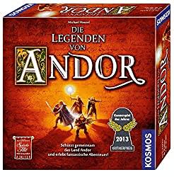 besten Gesellschaftsspiele für 10 jährige - Die Legenden von Andor