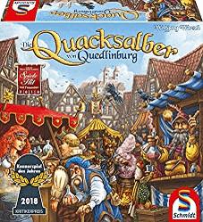 besten Gesellschaftsspiele für 10 jährige - Die Quacksalber von Quedlinburg