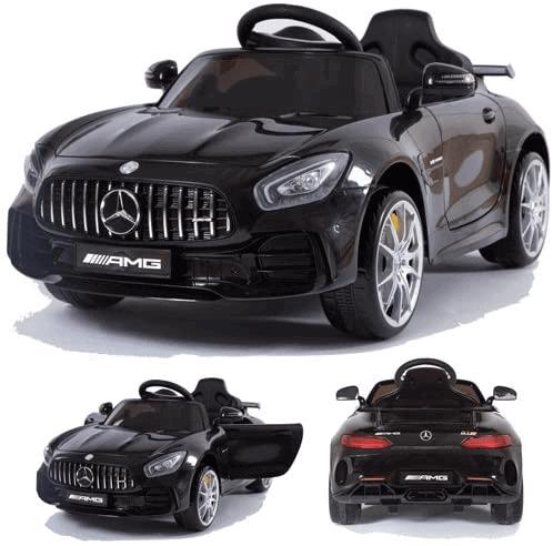 crooza Mercedes-Benz AMG GT-R GTR mit SoftStart Kinderauto Kinderfahrzeug Kinder Elektroauto