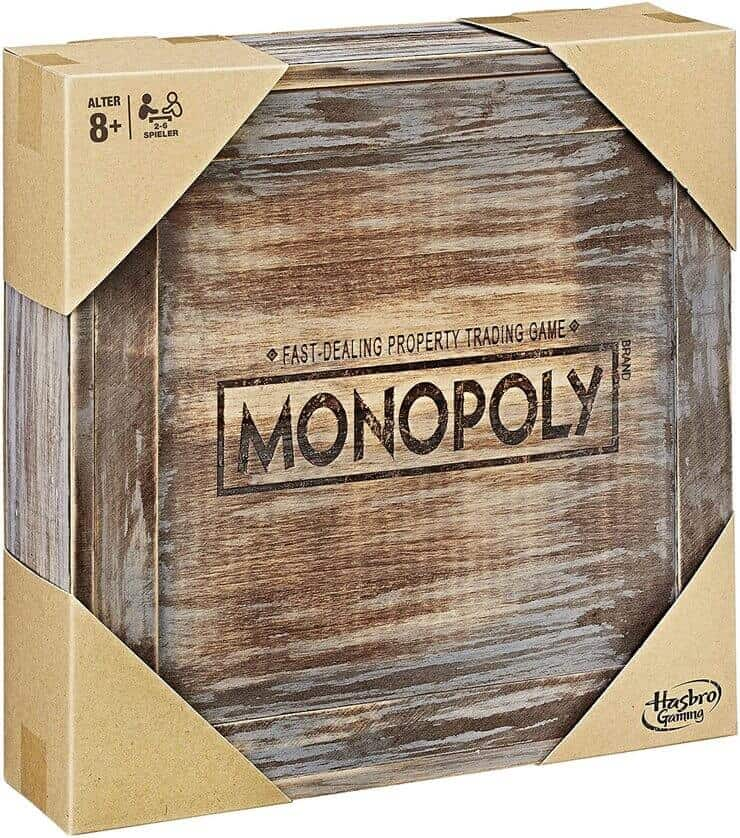 Monopoly Holz - Sonderedition